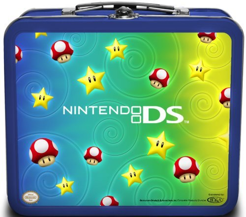 (Nintendo DS Lite Tin Starter Kit Stars and Mushrooms by BD&A)
