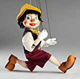 Young Pinocchio Czech Marionette - String Puppet