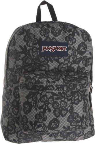 JanSport Superbreak Backpack (New Storm Grey/Black Lacis) in the ...