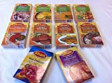 10 Packs Combo Variety Shan Foods of MIX Spices/Ingredients Meat/Vegetable Dishes for Indian/Pakistani