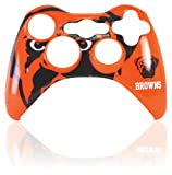 Official NFL Cleveland Browns Controller Faceplate - Xbox 360 Standard Edition