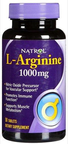 Natrol L Arginine Advntg 1000Mg 50 Tab by Natrol