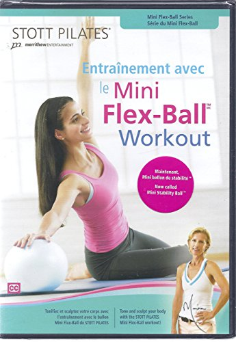 Stott Pilates Mini Flex-Ball Workout (Ball Exercise Dvd)
