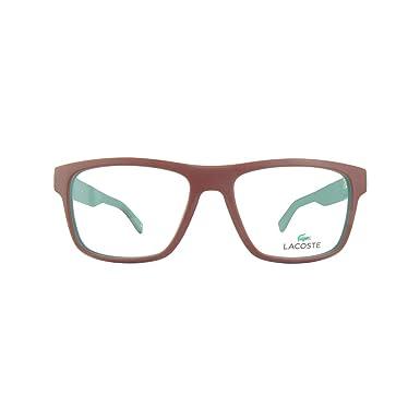Óculos de Grau Lacoste L2792 615 53 Vermelho Fosco  Amazon.com.br ... b6c28961d3