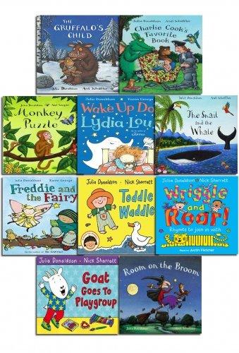 The Julia Donaldson Collection Pack 10 Books Set Inc Gruffalo Song Book and Gruffalo Child: Amazon.es: Julia Donaldson: Libros en idiomas extranjeros