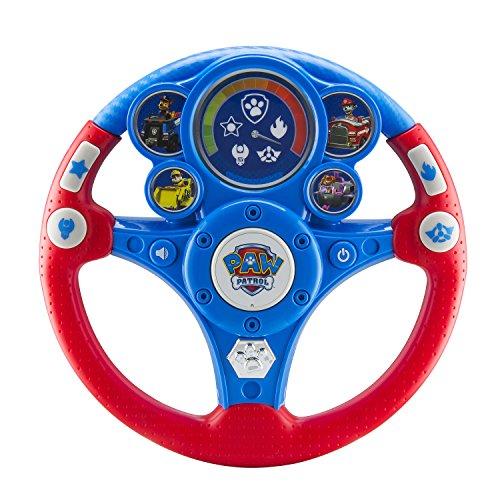 eKids Paw Patrol MP3 Smart Wheel Motion Reactive Toy Steerin