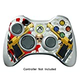 Cheap Skin Stickers for Xbox 360 Controller – Vinyl High Gloss Sticker for X360 Slim Wired Wireless Game Controllers – Protectors Stickers Controller Decal – Ghost Ops [ Controller Not Included ]