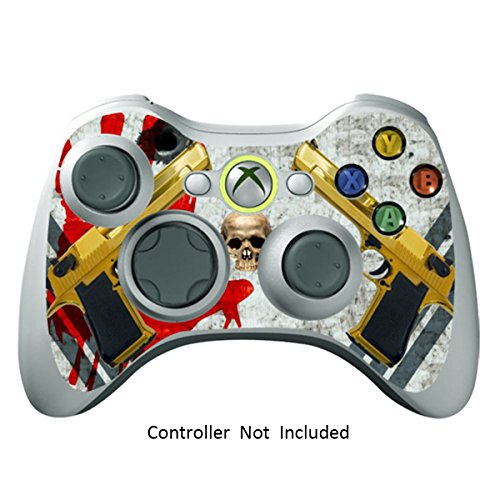 Skin Stickers for Xbox 360 Controller - Vinyl High Gloss Sticker for X360 Slim Wired Wireless Game Controllers - Protectors Stickers Controller Decal - Ghost Ops [ Controller Not Included ]
