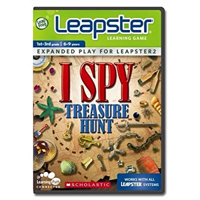 LeapFrog Leapster Learning Game Scholastic ISPY Treasure Hunt: Toys & Games