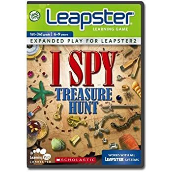 LeapFrog Leapster Learning Game Scholastic ISPY Treasure Hunt