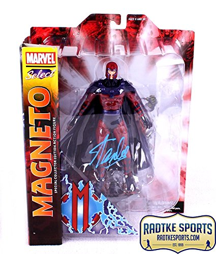 Stan Lee Autographed/Signed Marvel Select X-Men Magneto In-Box Action Figure
