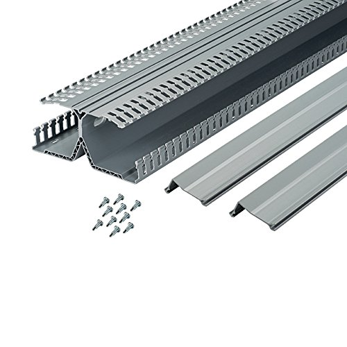 UPC 074983117086, Panduit DRD33LG6 PanelMax DIN Rail Wiring Duct, Lead-Free PVC, Light Gray