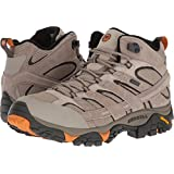 Merrell Mens Moab 2 Mid Waterproof Hiking Shoe, Brindle, 13 D(M) US