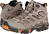 Merrell Men's Moab 2 Mid Waterproof Hiking Boot (8.5 D(M) US, Brindle)