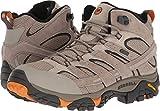 Merrell Men's Moab 2 Mid Waterproof Hiking Boot (10 D(M) US, Brindle)