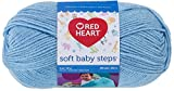 Red Heart  Soft Baby Steps Yarn, Solid, Baby Blue