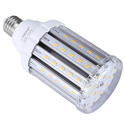 Liqoo® 25W E27 LED Lampe Mais Licht Ersatz für 130W Glühlampe 2500lm Warmweiß 2800K AC 85V - 265V 360° Abstrahlwinkel 5730 SMD Energiesparlampe Leuchtmittel