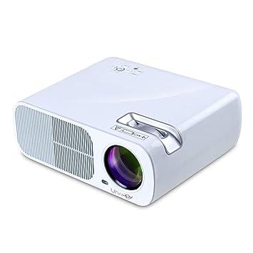 FSM88 Mini proyector inalámbrico, Pantalla de 200 Pulgadas ...