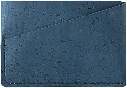 Minimalist Front Pocket Wallet Cards ID Slim Vegan Non Leather Eco Friendly Cork