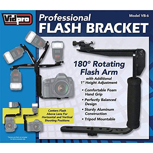 Vidpro VB-6 Rotating Arm Flash Bracket