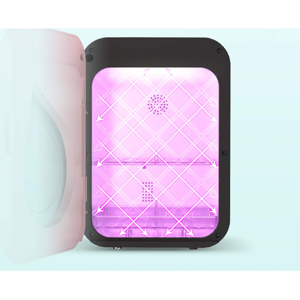 Suministros para beb/és Secado y desinfecci/ón Dos en uno Gabinete de desinfecci/ón multifuncional para esterilizadores de botellas Esterilizador de vapor UV Esterilizador multiuso