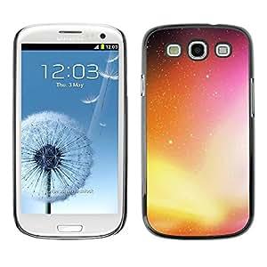 Slim Design Hard PC/Aluminum Shell Case Cover for Samsung Galaxy S3 I9300 Neon Galaxy / JUSTGO PHONE PROTECTOR