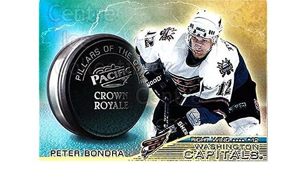 Amazon.com: (CI) Peter Bondra Hockey Card 1998-99 Crown Royale Pillars of the Game 25 Peter Bondra: Collectibles & Fine Art