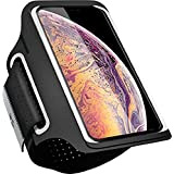 Cell Phone Armband for iPhone Xs Max, XR, 8 Plus, 7 Plus, 8/7/6s, Samsung Galaxy S9 Plus, S8 Plus, S9/S8/S7, Mangrove Water Resistant Breathable Phone Armband for Running, Biking + Free Extender
