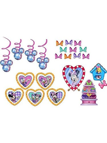 (Minnie's Bow-tique Decorating Kit Birthday Party)