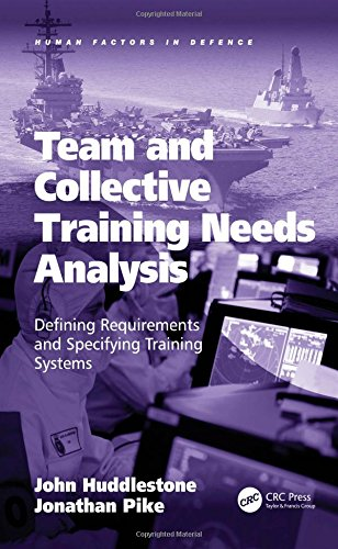 Team and Collective Training Needs Analysis: Defining Requirements and Specifying Training Systems (Human Factors in Defence)-cover