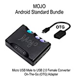 Android Standard Bundle - CHORD Electronics Mojo, portable DAC/Headphone Amplifier and Micro USB Male to USB 2.0 Female Converter On-The-Go (OTG) Adapter