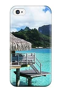 New Style Fashion Protective Bora Bora Case Cover For Iphone 4/4s