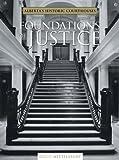 Foundations of Justice, David Mittelstadt, 1552381234
