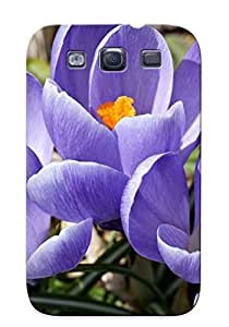Eatcooment Series Skin Case Cover Ikey Case For Galaxy S3(crocuses )