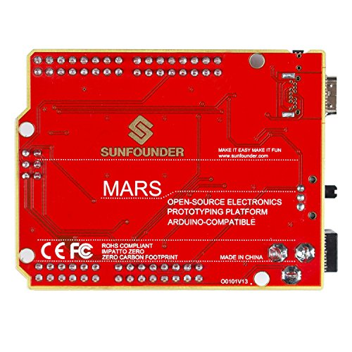 SunFounder Mars Board - Compatible with Arduino UNO R3