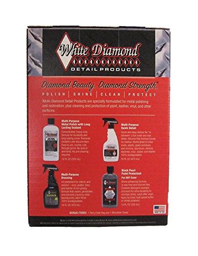 화이트 다이아몬드 멀티 팩 - 4 가지 프리미엄 화이트 다이아몬드 ..