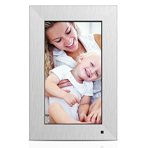 NIX LUX 10.1 Inch Digital Non-WiFi Photo & HD Video Frame, With Hu Motion Sensor – Metal
