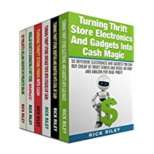 Turning Thrift Store Finds Into Cash Box Set (6 in 1): Learn How To Dominate The Thrift Store And Resell Your Items On eBay For Huge Profits (Selling Online, Work From Home, eBay Secrets Revealed)