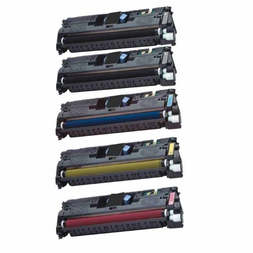 - HI-VISION Remanufactured Hewlett-Packard (HP 122A) Laserjet Toner Cartridge Replacement for Q3960A Q3961A Q3962A Q3963A (2 Black, 1 Cyan, 1 Yellow, 1 Magenta, 5-Pack) works with HP Color LaserJet 1500, 2500, 1500L, 1500Lxi, 2500n, 2840, 2820 All-in-One Printer