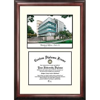 Image of Campus Images CA933V University of California, Irvine Scholar Diploma Frame, 8.5' x 11'
