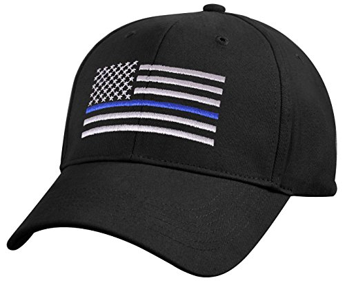 (Rothco Kids Low Profile Thin Blue Line Flag Cap)