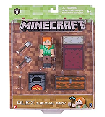 Minecraft Alex Survival Pack by Jazwares - Import
