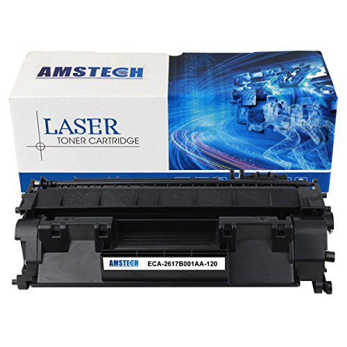 1 Pack Amstech 5,000 Pages New Compatible Canon (2617B001AA) Canon 120 CRG-120 Black Toner Cartridge For Canon D1350 D1320 D1150 D1120 Printer