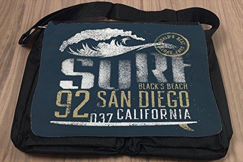 Umhänge Schulter Tasche Sport Surf Adresse bedruckt
