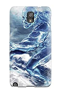 Awesome Case Cover/galaxy Note 3 Defender Case Cover(silver Surfer)