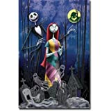 Nightmare Before Christmas - Romance Movie Poster