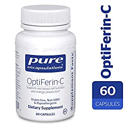 Promotes healthy ferritin, hemoglobin, and red blood cell function.