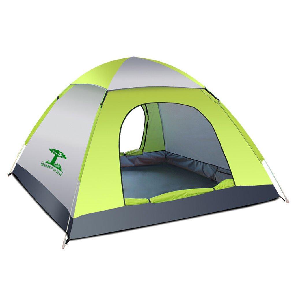 He Ping Yuan Zelt Outdoor Zelte 3-4 Personen Vollautomatische Camping Zelte 200cm  200cm  135cm @@ (Farbe : E)