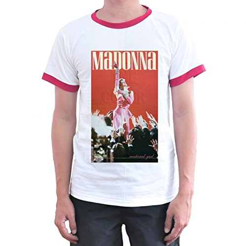 Madonna Material Girl Tee Adults. S to 3XL