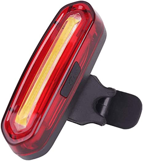 WDMBM Luz de Bicicleta USB Recargable LED Ciclismo luz Trasera MTB ...